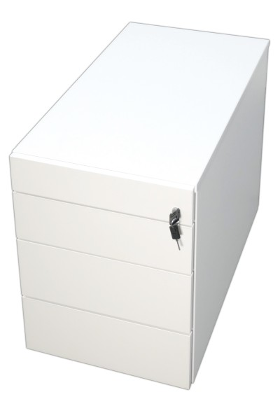 Nowy Styl eModel Rollcontainer - Untertischcontainer - Weiß