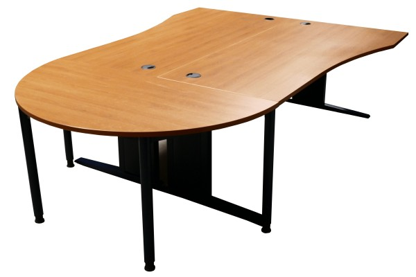 Günstiger, gebrauchter Werndl Doppelarbeitsplatz - Schreibtisch