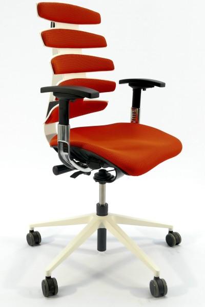 Günstiger SITAG SITAGWAVE Bürodrehstuhl - Stoff Orange