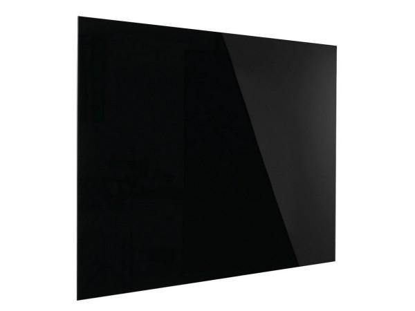 Günstige Design-Glastafel - Glasboard - Schwarz