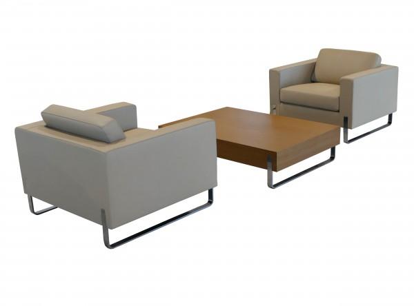 Profim MyTurn Sessel-Set incl. Beistelltisch für den Wartebereich