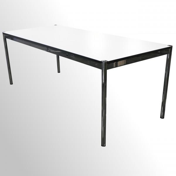 Günstiger, gebrauchter USM Haller Arbeitstisch - Weiß - 1750x750 mm