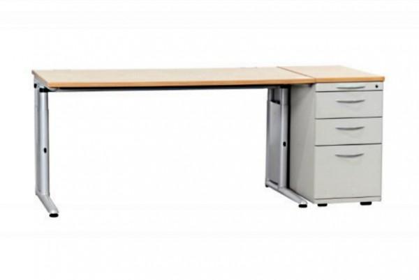 Günstiges, gebrauchtes Werndl Schreibtisch-Standcontainer-Set - Königsahorn Dekor