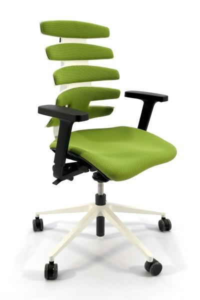 Günstiger SITAG SITAGWAVE Bürodrehstuhl - Stoff grün