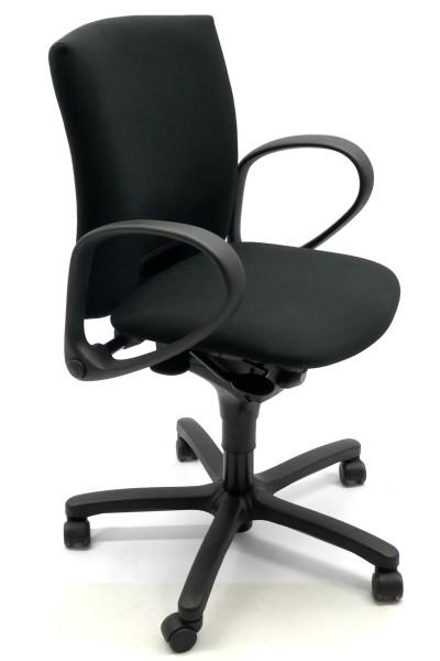 Gebrauchter Bürodrehstuhl mit Armlehnen