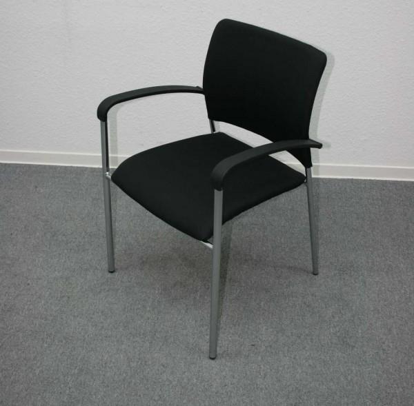 Gebrauchter Besucherstuhl mit Armlehnen