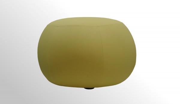 Günstiger Design-Pouf - Otomane - Hocker mit neu bezogenem Polster
