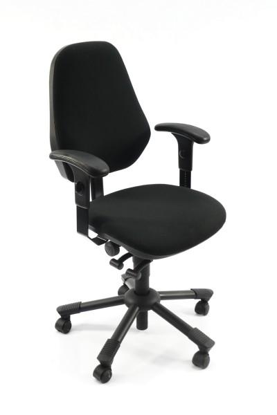 Gebrauchter Interstuhl Bürodrehstuhl mit Armlehnen