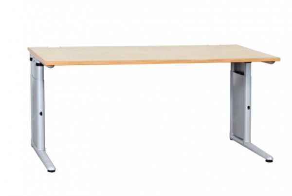 Günstiger, gebrauchter Werndl Schreibtisch - Königsahorn Dekor