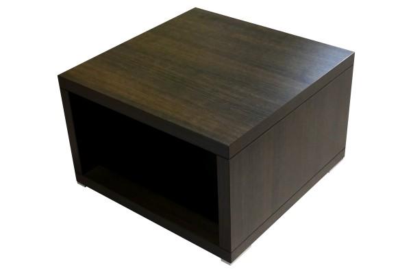 Günstiger Lounge- und Beistelltisch - Eiche dunkel - 600 x 600 mm