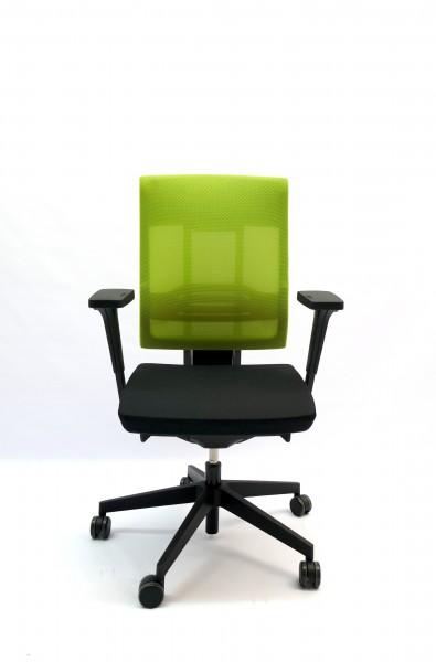 Gebrauchter Profim Bürodrehstuhl - Netzrücken grün