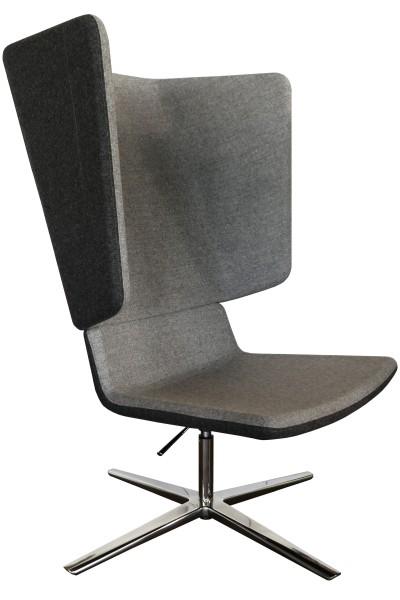 Günstiger Highback Lounge Chair für den Wartebereich