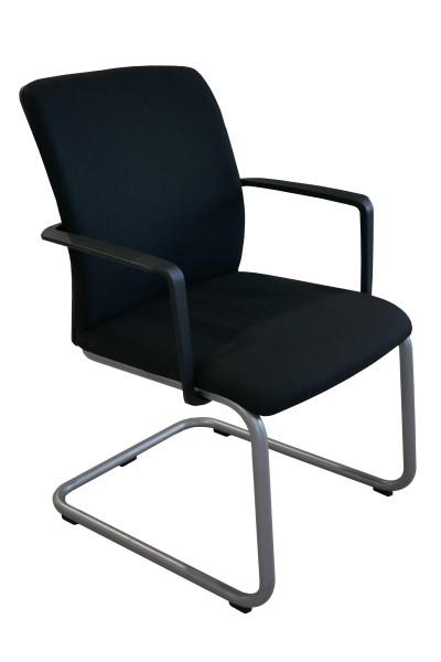 Günstiger Steelcase 32 Seconds Besucherstuhl mit neu bezogenem Polster