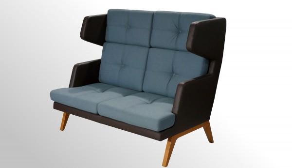 Profim October Sitzsofa - Loungesessel mit hoher Rückenlehne