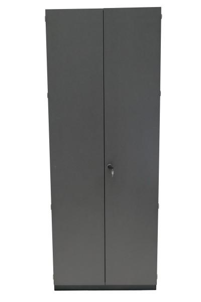 Günstiger, gebrauchter Assmann Aktenschrank - Flügeltürenschrank - anthrazit