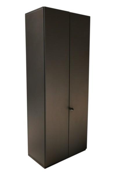 Gebrauchter Steelcase Flügeltürenschrank - Aktenschrank - anthrazit