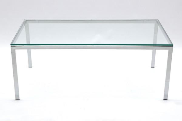 Günstiger Design-Glastisch - Beistelltisch.