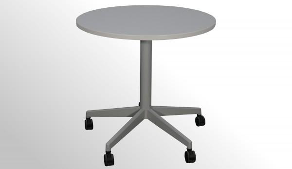 Gebrauchter Steelcase Besprechungstisch auf Rollen - Ø 800
