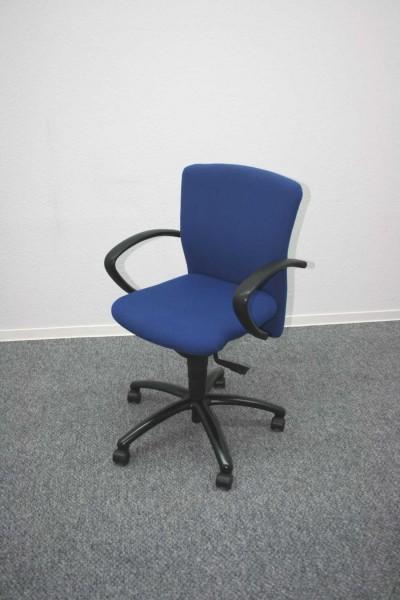 Gebrauchter Dauphin Bürodrehstuhl mit Armlehnen