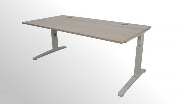 Gebrauchter Steelcase Activa Arbeitstisch - Schreibtisch - Akazie Dekor