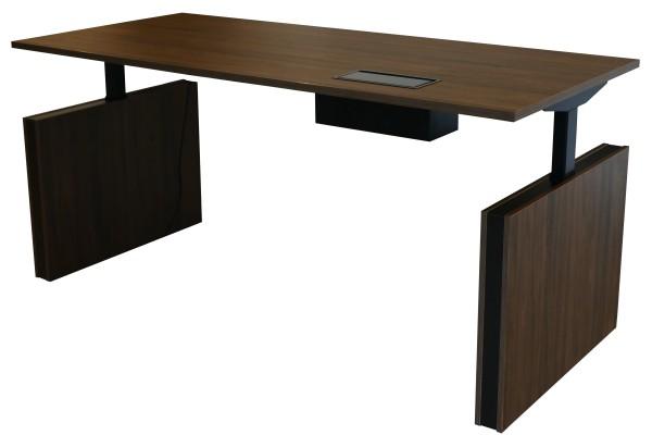 Günstiger elektrisch höhenverstellbarer Chefarbeitstisch - Schreibtisch