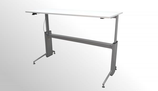 Günstiger Fleischer Schreibtisch per Gasfeder höhenverstellbar