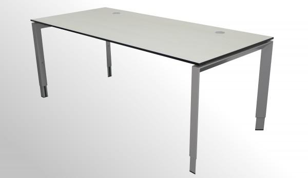 Gebrauchter Steelcase Schreibtisch - Ahorn Hell Dekor