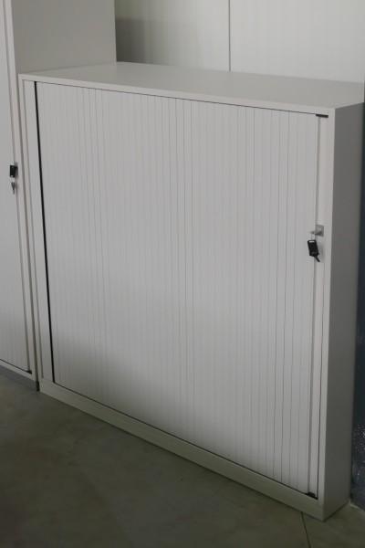 Günstiger, gebrauchter Steelcase Rollladenschrank - Aktenschrank