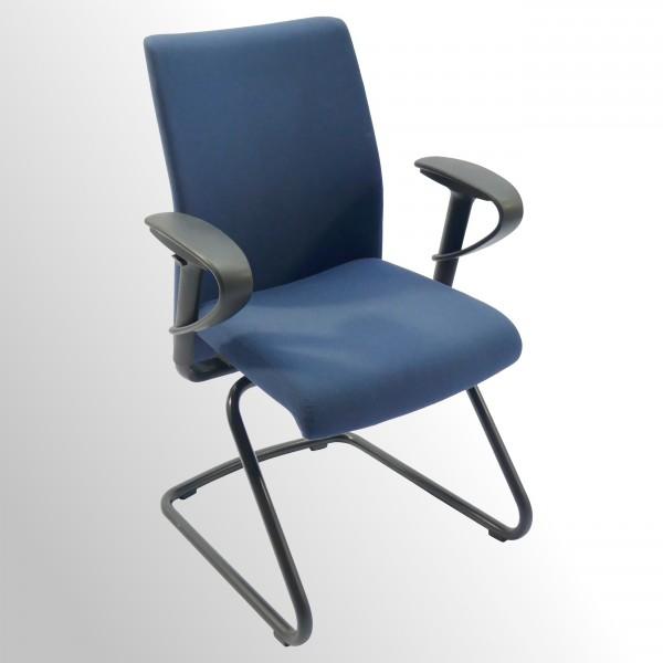 Gebrauchter Girsberger Besucherstuhl mit Armlehnen
